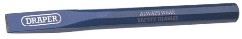 Draper DRA63736 Octagonal Shank Cold Chisel, Blue, 13 x 150 mm Chisels Cold Chisels Hand Tools