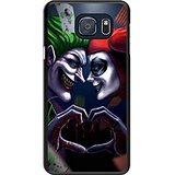 Galaxy S6 edge+ Case - Harley Quinn and Joker Black Cell Phone Case Cover for Samsung Galaxy S6 edge Plus