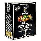 Morton Coarse Kosher Salt, 3 lbs. - PACK OF 3