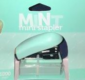 Office Depot Brand Mini Stapler, Mint