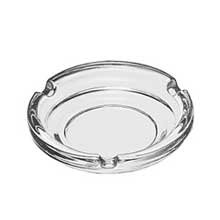 Libbey 4.25 Ounce Glass Ashtray Clear Round - 48 per case