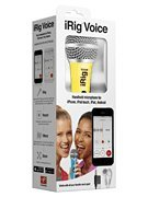 IK Multimedia IRIGMICVOYIN iRig Voice Microphone, Yellow