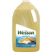 Wesson Vegetable Pure Natural Oil, 1 Gal - Pack of 2