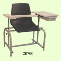 (Brandt Blood Drawing Chair without Drawer, 17.25