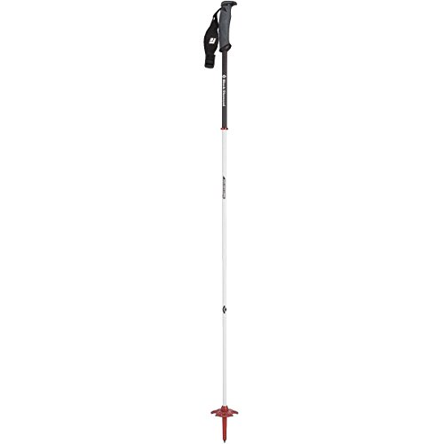 Black Diamond Fixed Length Carbon Ski Poles Black / Deep Torch 130 cm