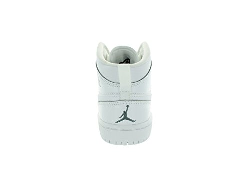 Nike Jordan 1 Mid BP White Kids Trainers Size Kids 1 UK
