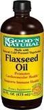 Organic Flaxseed Oil Liquid - 16 oz,(Good'n Natural)