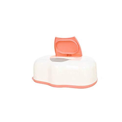 Dispensador de toallitas Toallitas para bebés Funda para toallitas Limpie la cubierta de la caja de pañuelos abiertos…