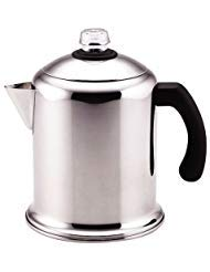 8 Cup Percolator , Polished stainless steel for beauty and durability. by Farberware