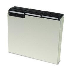 ** Recycled Tab File Guides, Blank, 1/3 Tab, Pressboard, Letter, 50/Box **