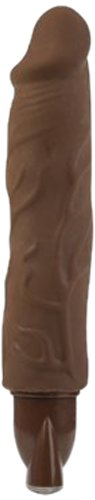 California Exotic Novelties 10-function Pure Skin Bendie, Brown