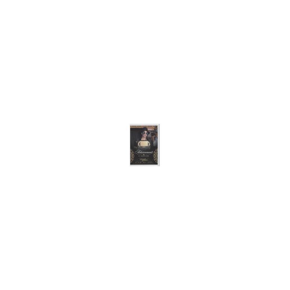 Michael Jackson #/500 (Trading Card) 2011 Michael Jackson Gold #127