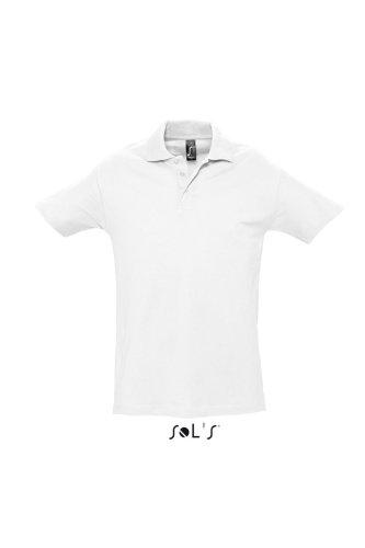 SOL´S Polo Spring II, Größe:M, Farbe:White
