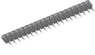 SAMTEC SLW-116-01-S-S SOCKET 1X16 POSITION 2.54MM 100 pieces