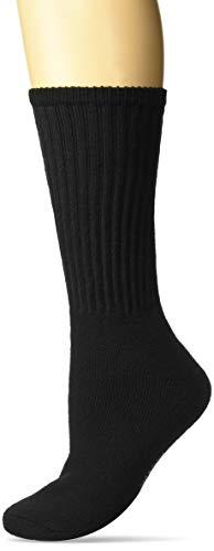 WigWam Volley Athletic Socks, Black, Lg