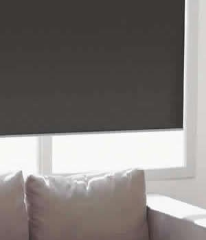 Made-to-Order Standard Roller Shades, Custom, Blackout Shades, 93W x 63H, Timeless White