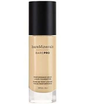 bareMinerals BarePro Performance Wear Liquid Foundation Cool Beige 10, 1 Fluid Ounce