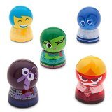 - Disney Store Deluxe Inside Out Lip Balm Set Fear Sadness Disgust Fear