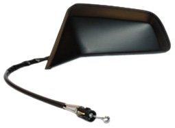 TYC 1630012 Oldsmobile Cutlass Driver Side Manual Replacement Mirror ()