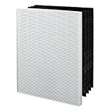 True HEPA & 4 Carbon Replacement Filter A 115115 works with Winix Plasma Air Purifier WAC5300, WAC5500, WAC6300, 5000, 5000b, 5300, (Best Replacement Filter For Winixes)