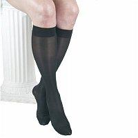 ITA-MED Sheer Knee Highs - Compression (23-30 mmHg): H-180, Small, Black, 1 pr - 2pc