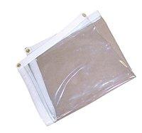 10' x 10' Clear Vinyl Tarp by CC