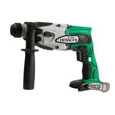 Hitachi Cordless Switch (Bare-Tool Hitachi DH18DLP4 18-Volt Lithium-Ion SDS Plus Rotary Hammer  (Discontinued by Manufacturer))