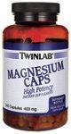 Twinlab Magnesium 400mg Capsules 240 Count