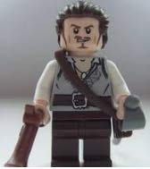 Will Turner Pirates Of The Caribbean - Will Turner Lego Pirates of the Caribbean Minifigure