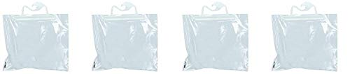 Monaco Hang-Up Portable Original Bag, 10 x 8-1/2 Inches, Clear, Pack of 10 (4-(Pack))