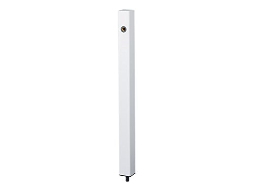 【KS-SC04P-WH】 ナスタ 外構エクステリア 水栓柱 ホワイト B071LLZYYC 14633