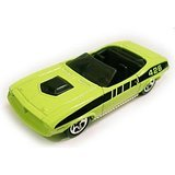 Mattel Hot Wheels 1998 1:64 Scale Lime Green 1970 Plymouth Barracuda Die Cast Car Collector #523 (Plymouth Car Barracuda)