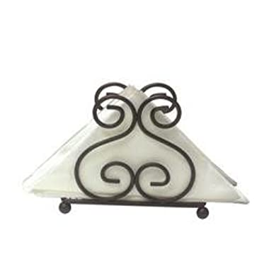 Home Basics Scroll Collection Napkin Holder