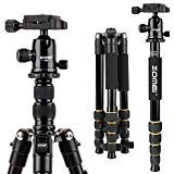 ZOMEI Aluminum Portable Tripod with Ball Head Professional Compact Travel for Nikon Canon