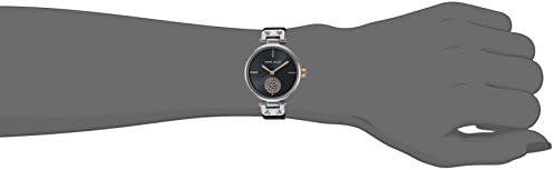 Anne Klein Women's Swarovski Crystal Accented Mesh Bracelet Gold-Tone Watch WeeklyReviewer