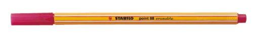 STABILO point 88 Fineliner Cancellabile colore Rosso - Confezione da 10 88/00-40