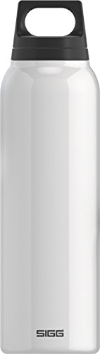 SIGG Classic Thermo 0.5-Liter Water Bottle with Tea Filter, White (Sigg Water Bottle Cleaner)
