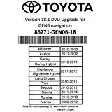 (2019 Toyota Navigation DVD Gen 6 U9A 18.1 Map GPS Update)
