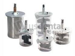 VAC-U-MIXER #4450 Mixing Bowl 300ml - (150g capacity) - with #4507 Pad 045-08729 Us Dental Depot