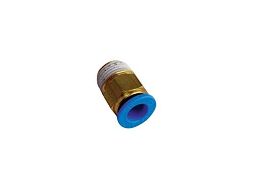 RADWELL VERIFIED SUBSTITUTE KQ2H07-34S-SUB Replacement of SMC KQ2H07-34S, Fitting - Male Straight 1/4 Hose 1/8 NPT