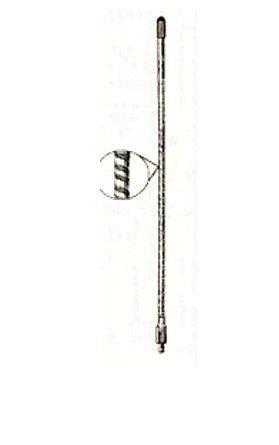 Everhardt SOTT3-B 1.5 Wave 3 ft. Cb Antenna. -Black
