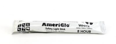Mutual Industries 17759-10-8 Cyalume 8 hours Lightstick, 6'' Length, White (Pack of 10) by Mutual Industries (Image #1)
