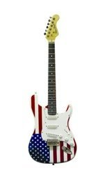 Cutaway Vintage Single - Main Street Guitars MEDCAF Double Cutaway Electric Guitar with 3 Single Coil Pickups