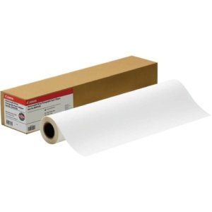 Price comparison product image Canon 1290V133 Scrim Vinyl Banner,  24 in. x 40 feet,  Roll