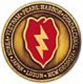 (25th Infantry Division Challenge Coin )