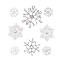 Jolee's Boutique Dimensional Stickers, Snowflakes