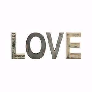 [L O V E-Free Standing Letters (4 Letters) (8