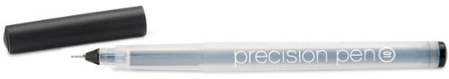 American Crafts 0.01 Point Open Stock Precision Pen, Black American Crafts Precision Pen