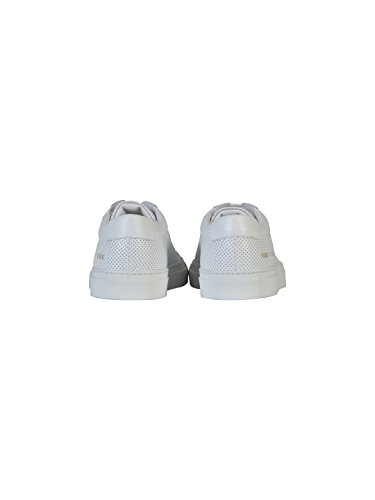 COMMON PROJECTS HOMME 18860506 BLANC CUIR BASKETS