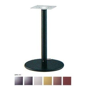 e-kanamono ガス昇降式テーブル脚 ラウンドSG7400 ベース400φ パイプ60.5φ 受座240x240 基準色塗装 AJ付 高さ680mm~930mm 黒メラ焼塗装 B012CF0WLW 黒メラ焼塗装 黒メラ焼塗装